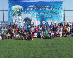 23 NİSAN FUTBOL ŞENLİĞİ BAŞLADI